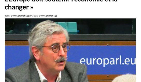 L'Europe doit soutenir l'économie et la changer