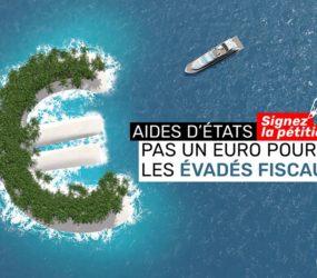 Pétition / Pas un euro pour les évadés fiscaux !