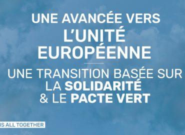 Plan de relance européen : Le Parlement européen défend un plan solidaire de transformation basé sur le Pacte vert