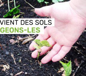 Protéger nos sols doit être une priorité absolue